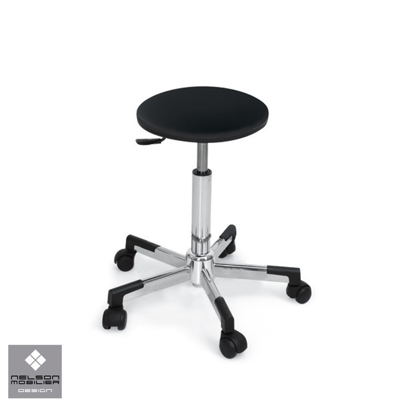 Hair Cutting Stool With Back